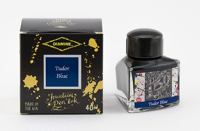 40ml Tudor Blue Fountain Pen Ink