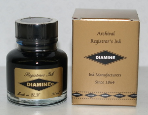 30ml Blue / Black Registrars Ink
