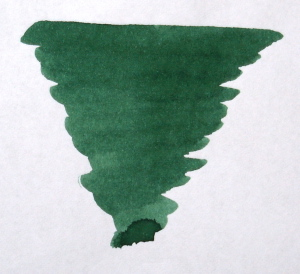 80ml Green Umber Writing Fountain Pen Ink