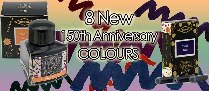 8 new and exciting ink colours